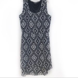 Indulge Aztec Print Dress